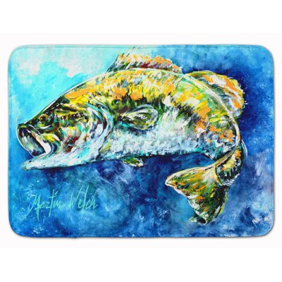 Bobby the Best Bass Memory Foam Bath Rug