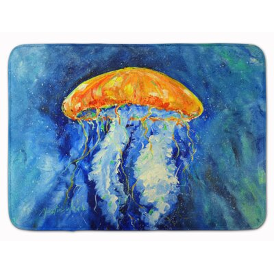 Ansonville Jellyfish Calm Water Memory Foam Bath Rug