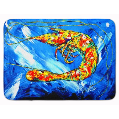 Odin Shrimp Ice Memory Foam Bath Rug