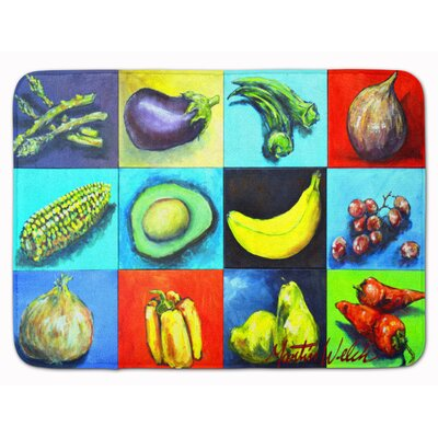 Fruits and Vegetables Mixed Memory Foam Bath Rug