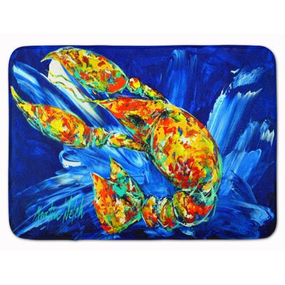 Not your Plano Crawfish Memory Foam Bath Rug