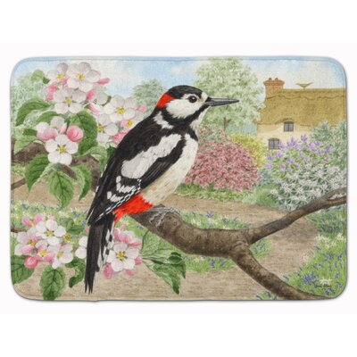 Woodpecker Memory Foam Bath Rug