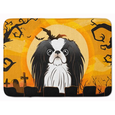 Halloween Japanese Chin Memory Foam Bath Rug