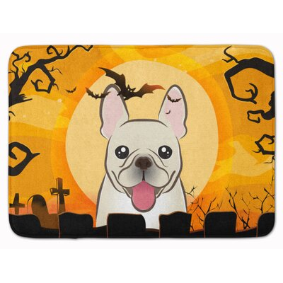Halloween French Bulldog Memory Foam Bath Rug