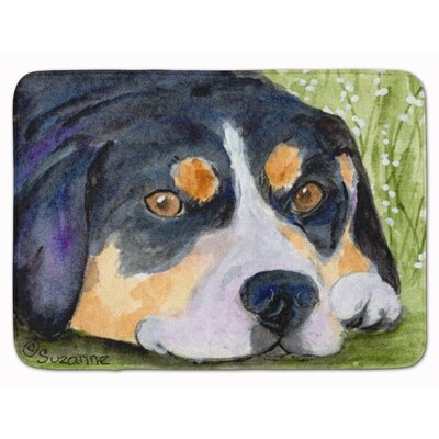 Entlebucher Mountain Dog Memory Foam Bath Rug