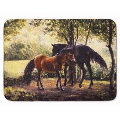 Horse by Daphne Baxter Memory Foam Bath Rug