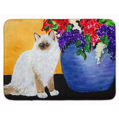 Cat Ragdoll Memory Foam Bath Rug
