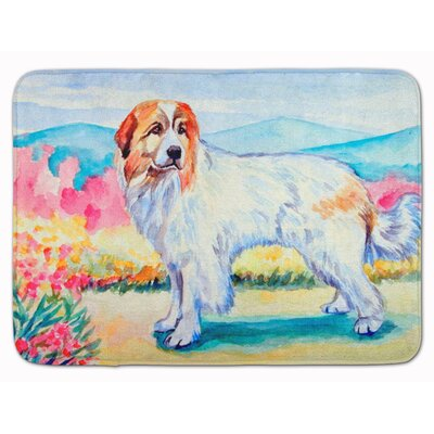 Great Pyrenees Memory Foam Bath Rug