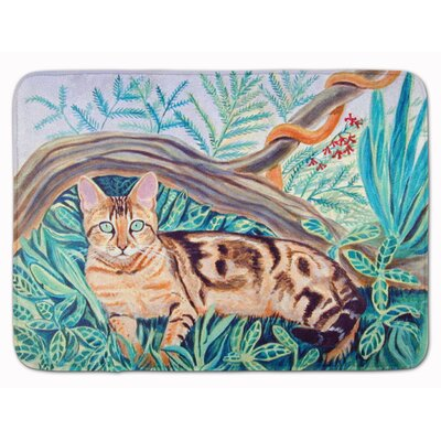 Cat Maine Coon Memory Foam Bath Rug