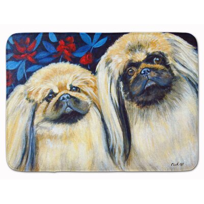 What A Pair of Pekingese Memory Foam Bath Rug