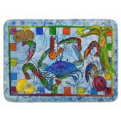 Crab Memory Foam Bath Rug