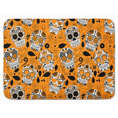 Day of the Dead Memory Foam Bath Rug