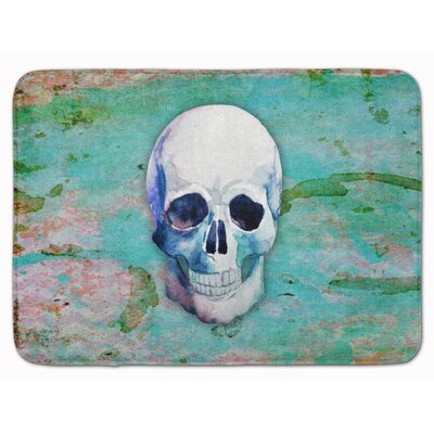 Day of the Dead Skull Memory Foam Bath Rug