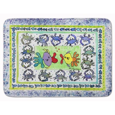 Kissing Fish Memory Foam Bath Rug