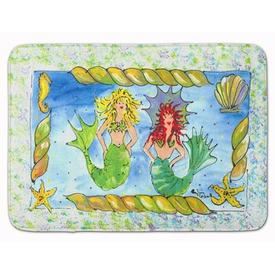 Whitney Mermaid Memory Foam Bath Rug