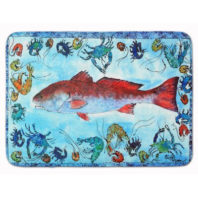 Egremont Fish Memory Foam Bath Rug