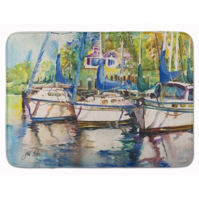 Tove Safe Harbour Sailboat Memory Foam Bath Rug