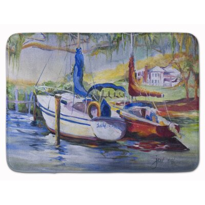 Lucky Dream Sailboat Memory Foam Bath Rug