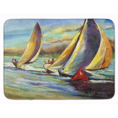 Knost Regatta Pass Christian Sailboat Memory Foam Bath Rug