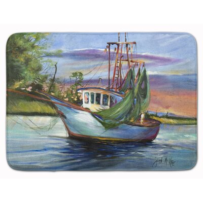 Jeannie Shrimp Boat Memory Foam Bath Rug