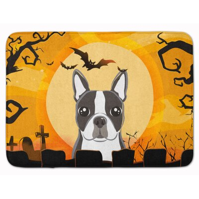 Testa Boston Terrier Memory Foam Bath Rug