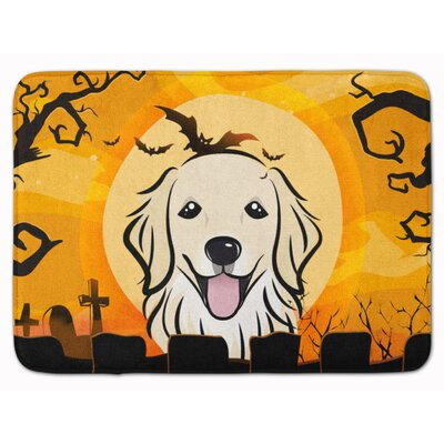 Halloween Retriever Memory Foam Bath Rug