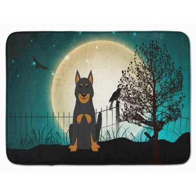 Testa Scary Beauce Shepherd Dog Memory Foam Bath Rug