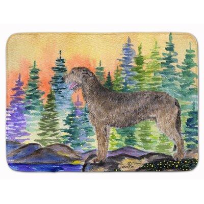 Jasper Irish Wolfhound Memory Foam Bath Rug