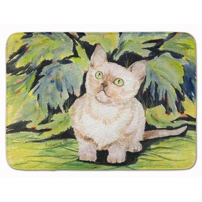 Cat Burmese Memory Foam Bath Rug