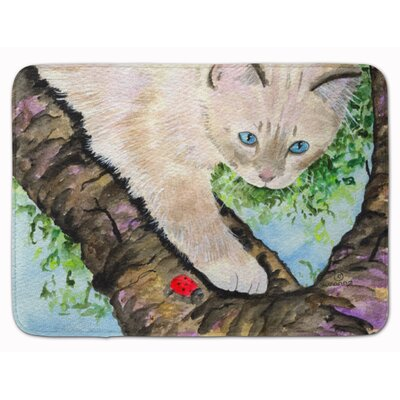 Cat Birman Memory Foam Bath Rug