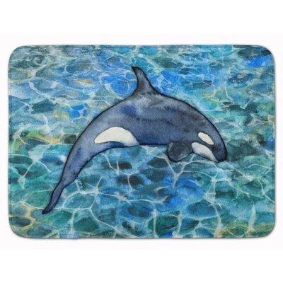 Colbin Killer Whale Orca Memory Foam Bath Rug