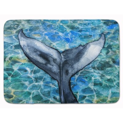 Whale Tail Memory Foam Bath Rug