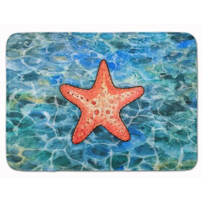 Andrews Starfish Memory Foam Bath Rug