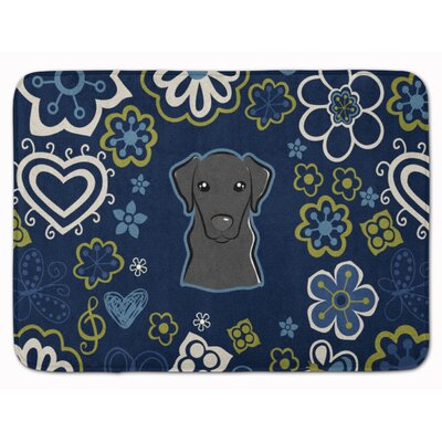 Labrador Memory Foam Bath Rug Color: Black