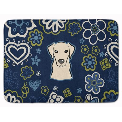 Labrador Memory Foam Bath Rug Color: Yellow