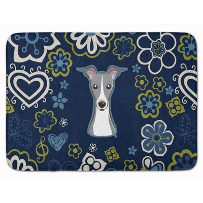Italian Greyhound Memory Foam Bath Rug