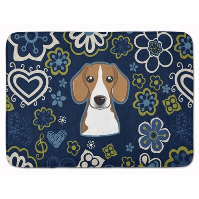 Beagle Memory Foam Bath Rug