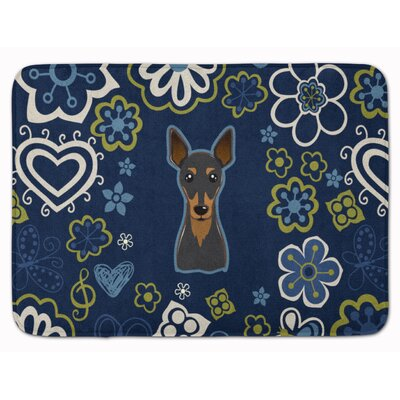Min Pin Memory Foam Bath Rug