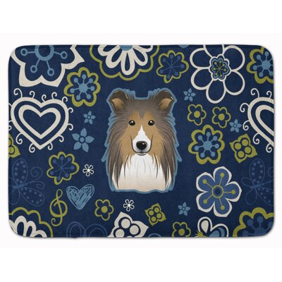 Sheltie Memory Foam Bath Rug