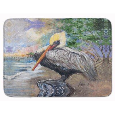 Pelican Bay Memory Foam Bath Rug