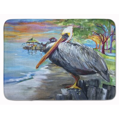Pelican View Memory Foam Bath Rug