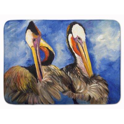 Pelican Brothers Memory Foam Bath Rug