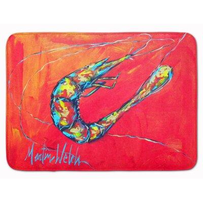 Odin Shrimp Seafood 3 Memory Foam Bath Rug