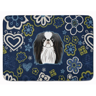 Japanese Chin Memory Foam Bath Rug