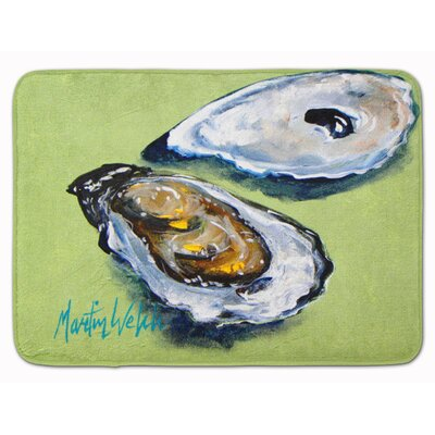 Seagrove Oyster 2 Shells Memory Foam Bath Rug