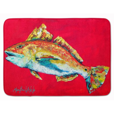 Fish Woo Hoo Memory Foam Bath Rug
