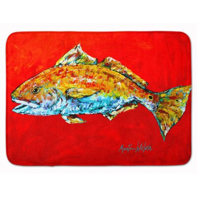 Fish Head Memory Foam Bath Rug