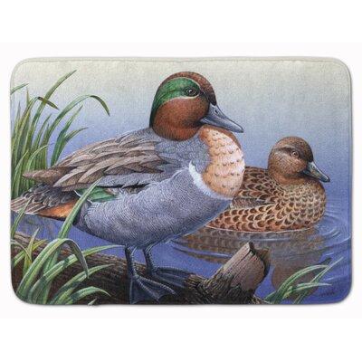 Ducks in the Water Memory Foam Bath Rug