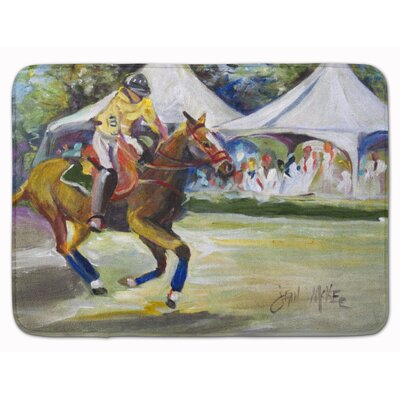 Polo at the Point Memory Foam Bath Rug