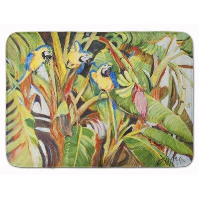 3 Parrots Memory Foam Bath Rug